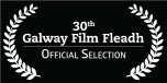 30th GFF Official Select white text on black